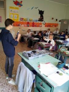 Il microscopio in classe!