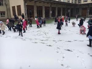 Che bella la prima neve!