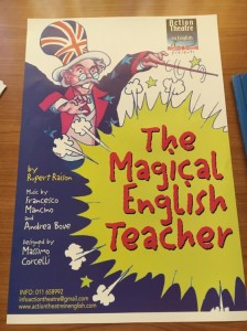 The magical english teacher