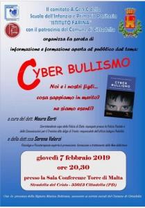Una serata sul cyber bullismo