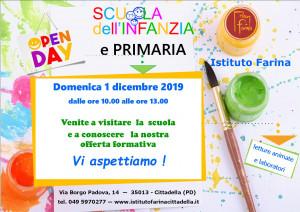 Scuola aperta: domenica 1 dicembre 2020